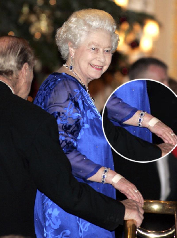 la reina Isabel en su cumpleaños 80