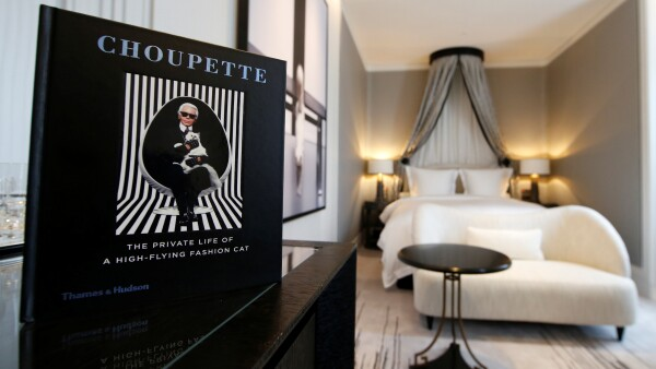 recámara choupette diseñada por Karl Lagerfeld