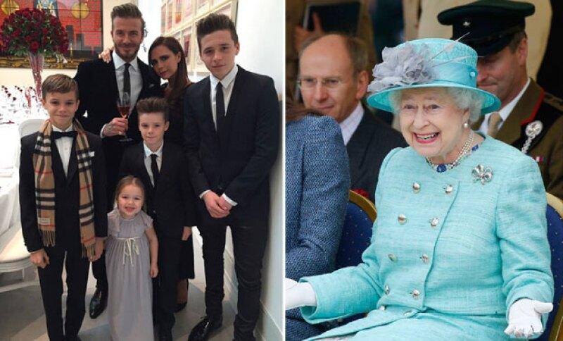 Tal vez no tenga sangre azul, pero la familia más famosa de Reino Unido vale más, en números, que la propia monarca.