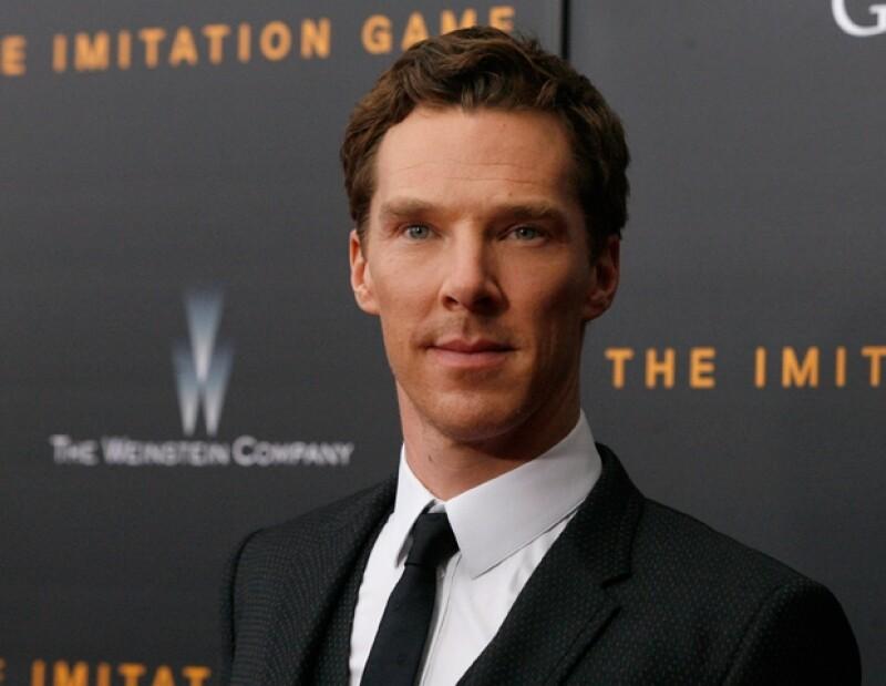 Benedict Cumberbatch, la estrella del momento.