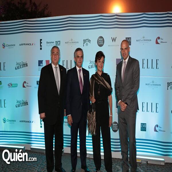 Miguel Torruco,Miguel Ángel Mancera,Elisabeth Beton,Manuel Rivera