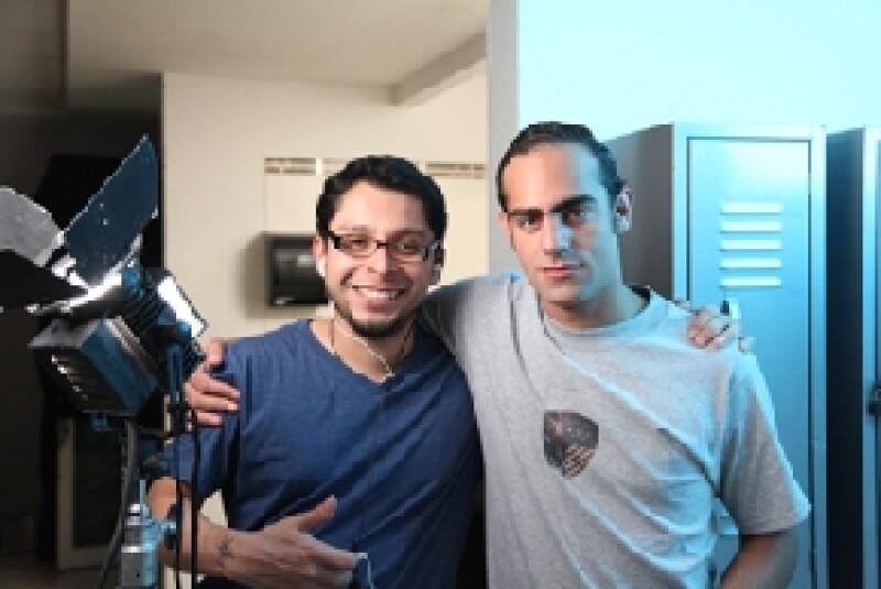 El actor se encuentra en Monterrey grabando la serie que se transmitirá a partir del 28 de mayo en un canal de paga; habló de que a la producción le tocó vivir la reciente violencia regiomontana.