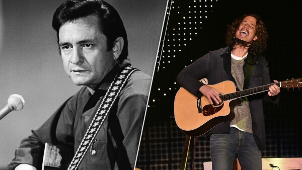 Johnny Cash y Chris Cornell