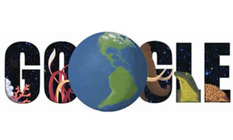 El doodle de hoy busca hacer conciencia sobre la protección de la Tierra. (Foto: Google.com )