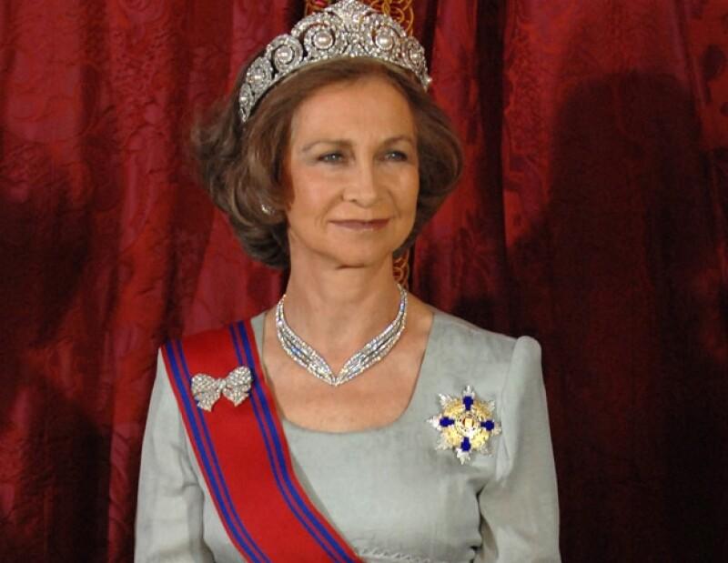 Doña Sofía fue reina de España durante 39 años.
