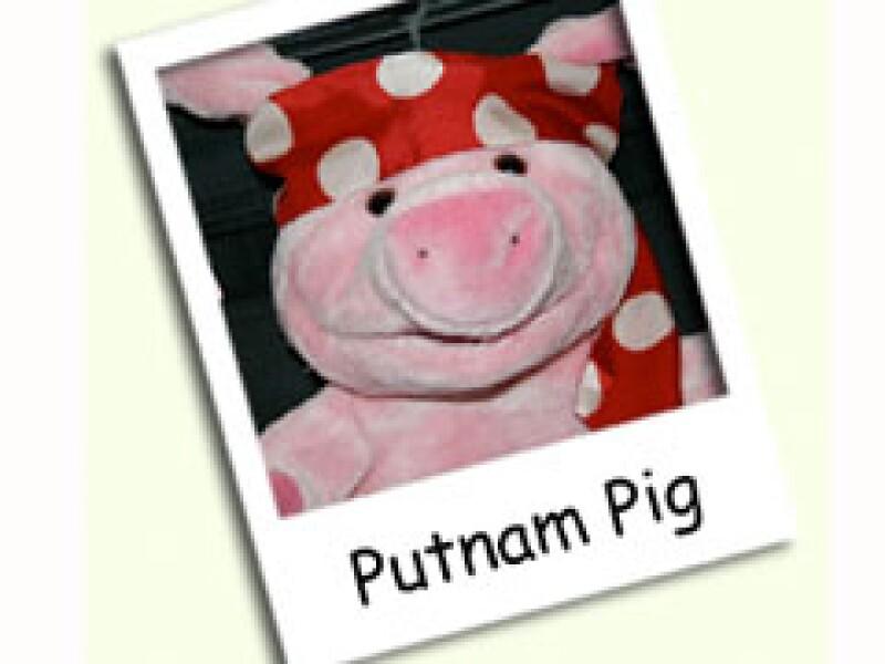 Putnam es un cerdo de peluche que defiende a los puercos en YouTube. (Foto: Cortesía)