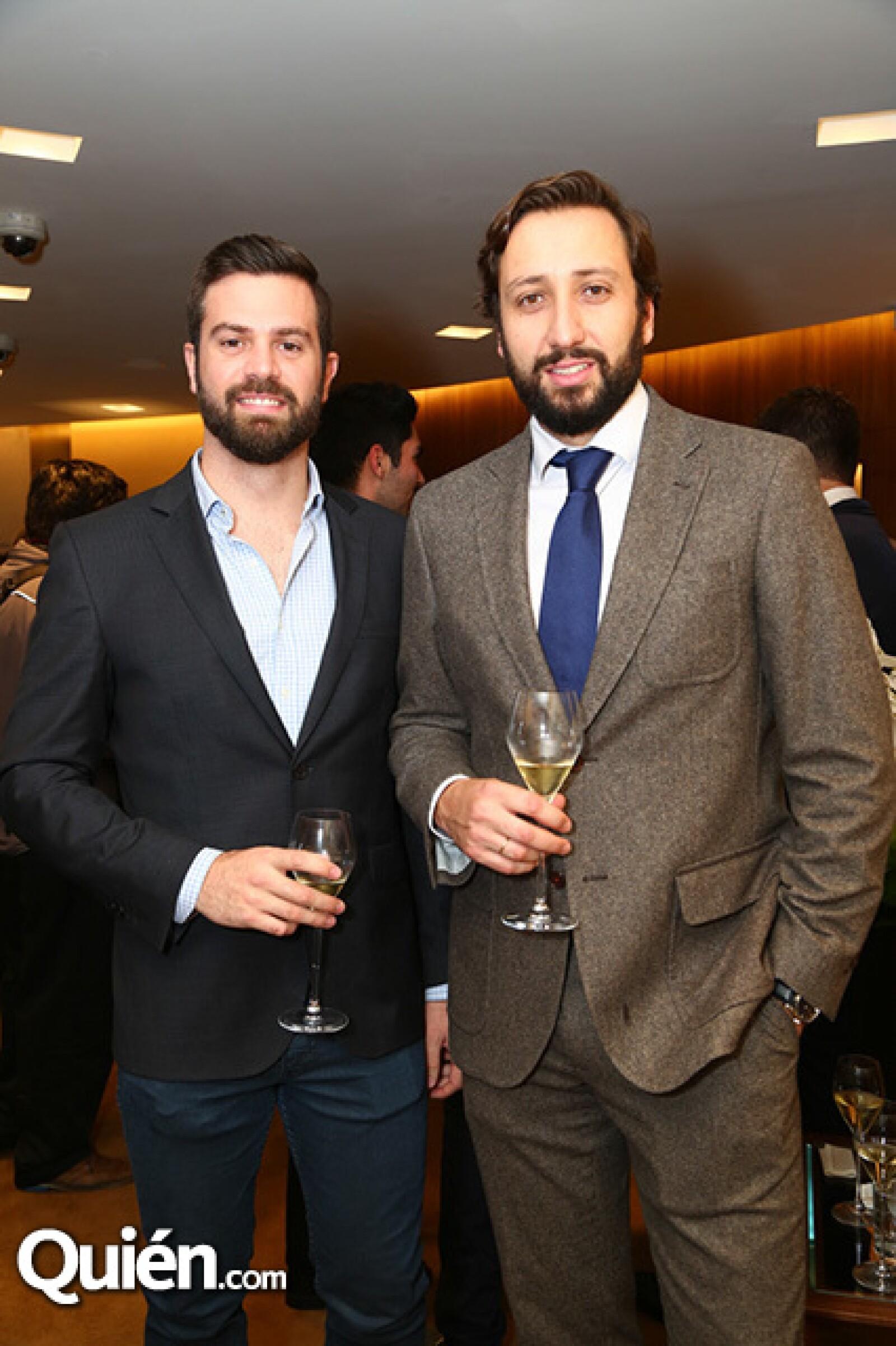 Juan Valeor y Manuel Quintanero