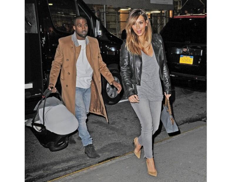No es la primera vez que Kanye hace este tipo de confesiones, esta semana aseguró que Kim es la mujer más hermosa del mundo.