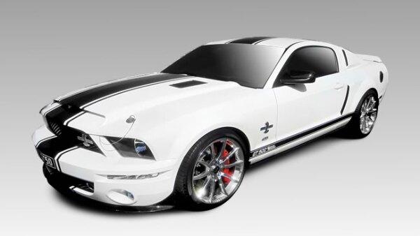 Modelo  2013 GT500 Mustang Super Snake. Es la versi�n m�s potente y radical de los Shelby