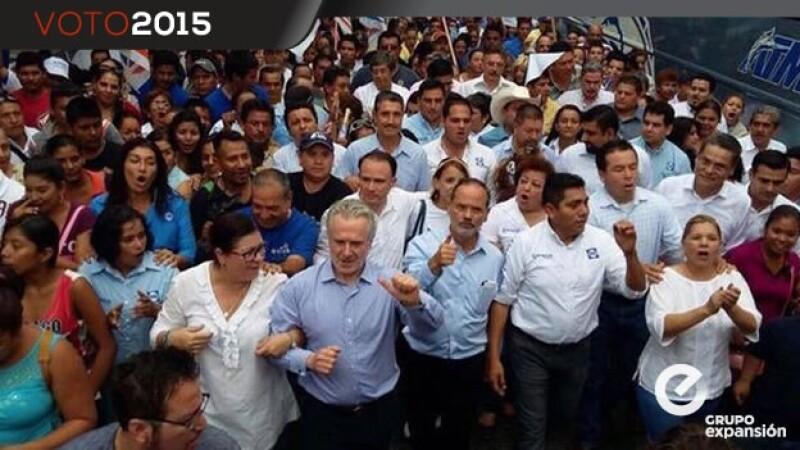 Panistas en Colima
