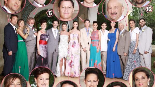 Las familias Salinas y Paleta se reunieron para el enlace matrimonial de la guapa pareja. Entérate quiénes aparecieron en la foto oficial de la familia.