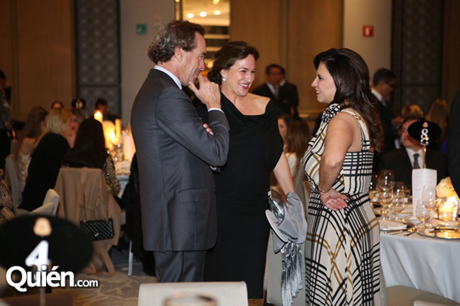 Ángel Cespedes,Mariana Baños y Maribe Lancioni