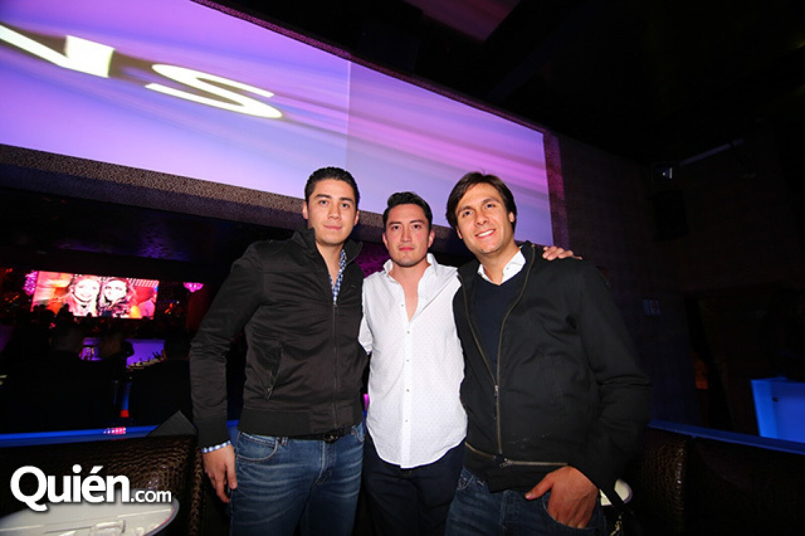 Alberto Parra,Bruno Tornelli y Luis Ortiz