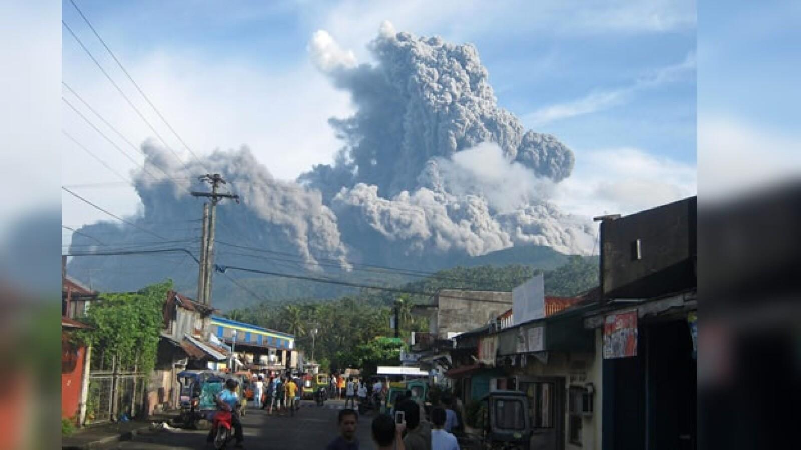 Bulusan volcan