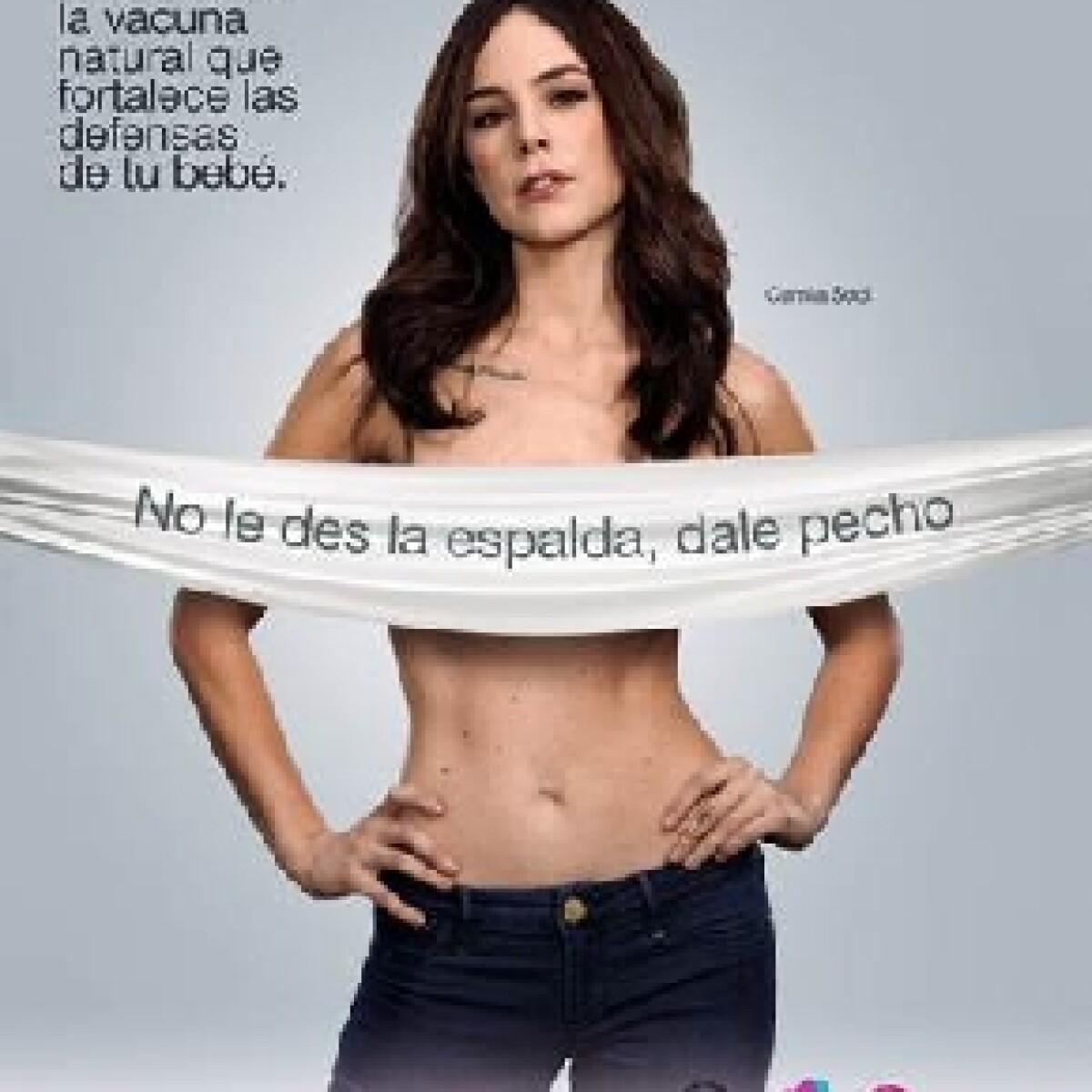 Camila Sodi y la polémica sobre la campaña pro lactancia