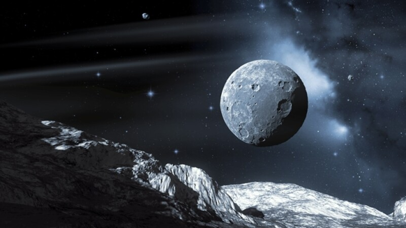 Plutón lunas