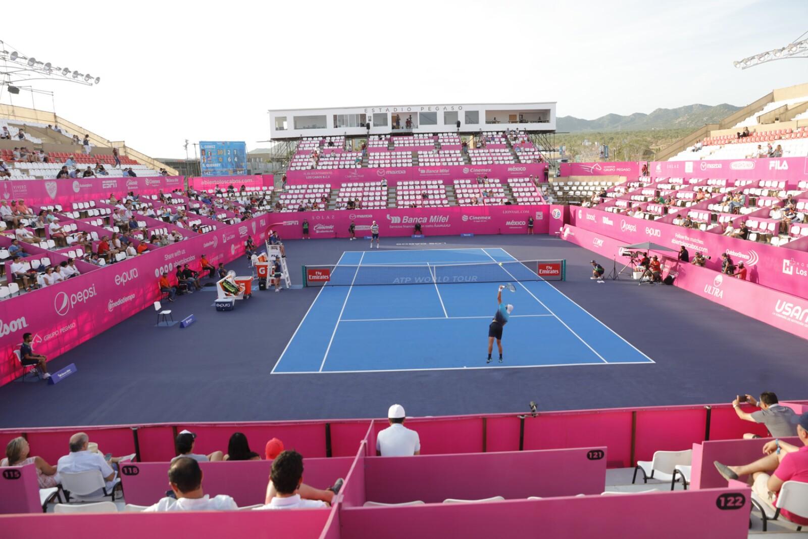 Abierto de Tenis Los Cabos martes