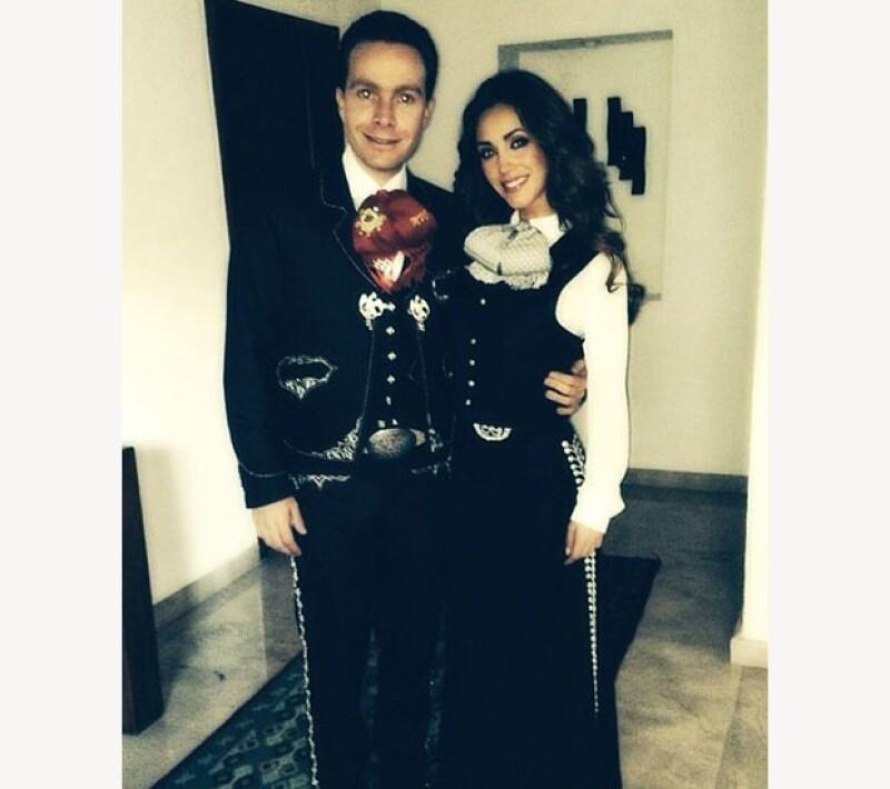 Manuel Velasco y Anahí lucen más juntos que nunca.