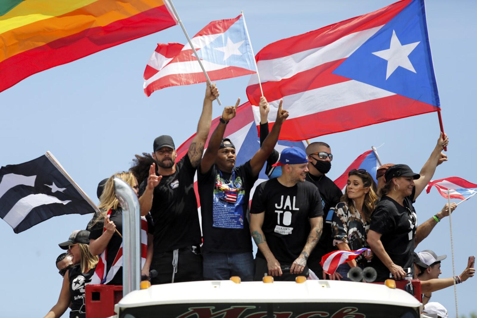 Puerto Rico Protestas