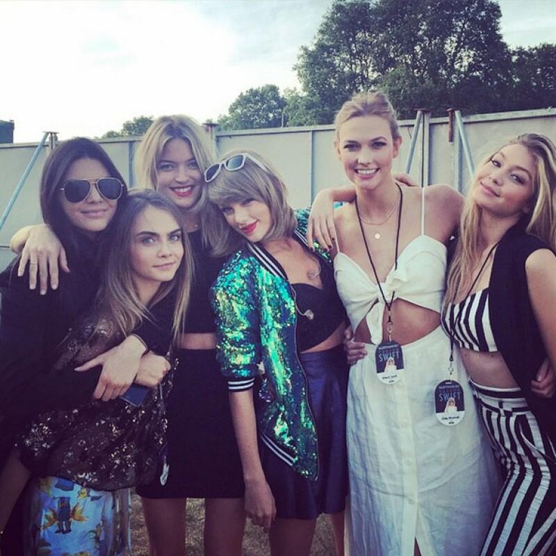 Kendall Jenner, Cara Delevingne, Karlie Kloss, Gigi Hadid y Martha Hunt son parte de uno de los grupos de amigas más poderosos del mundo y juntas han ganado muchos millones de dólares.