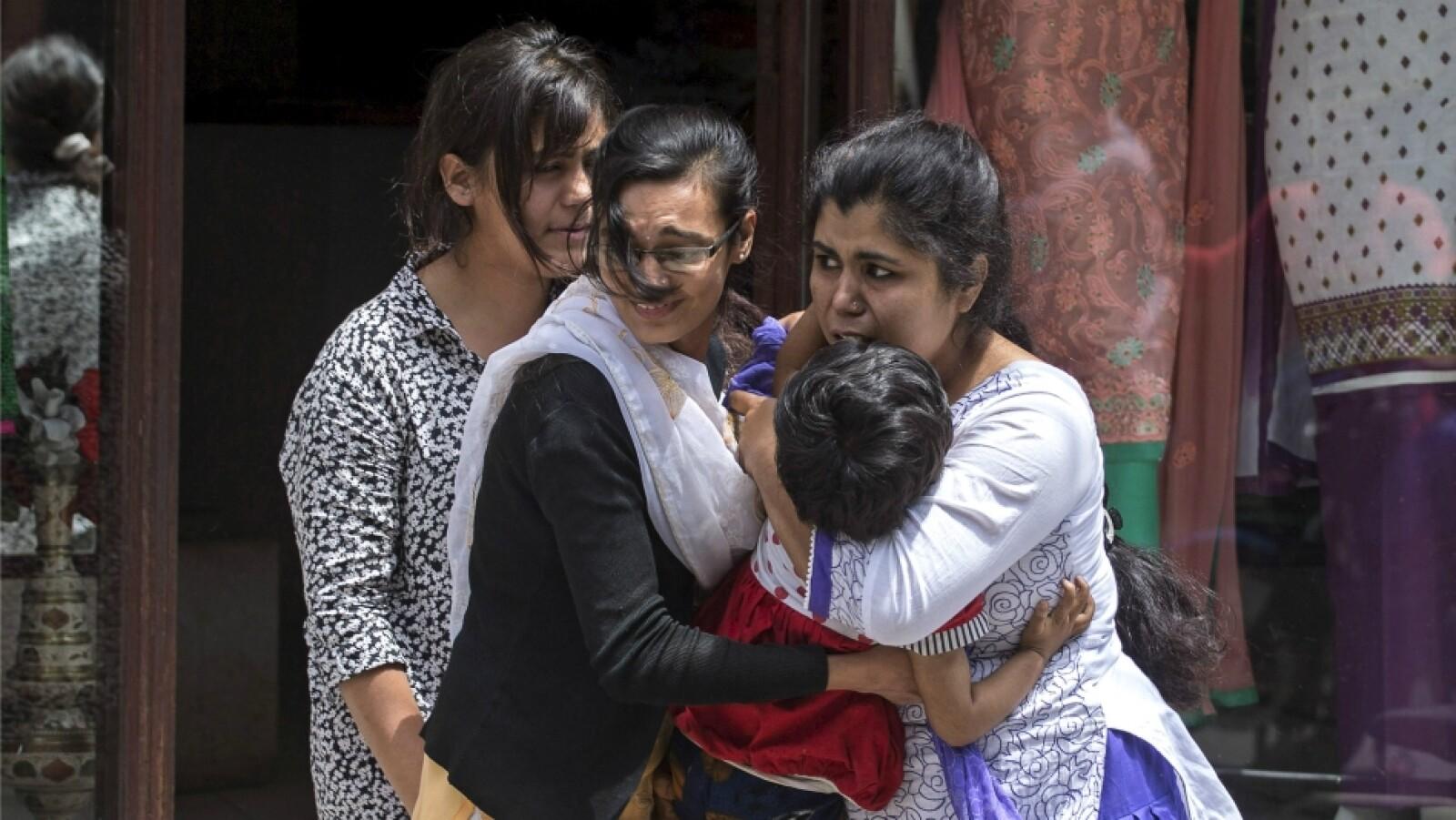 nepal india segundo sismo