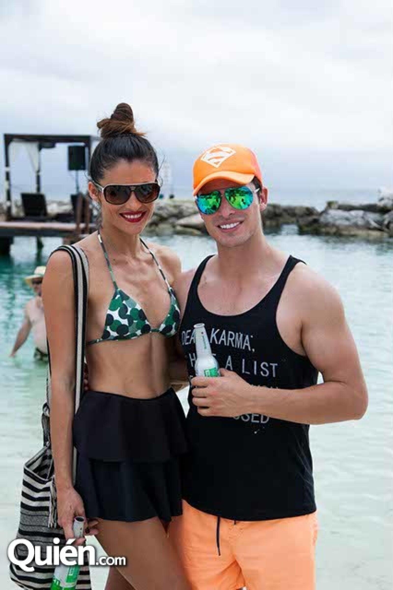 Claudia Román y Daniel Torres
