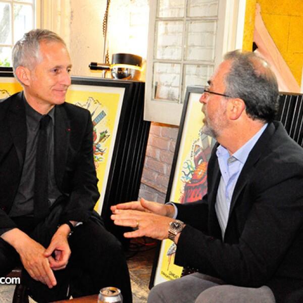 Bernardo Gómez Pimienta y Gerry Pascal