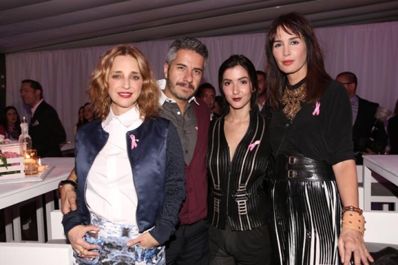 Claudia Ramírez, Moisés Arizmendi, Eréndira Ibarra y Martha Cristiana.
