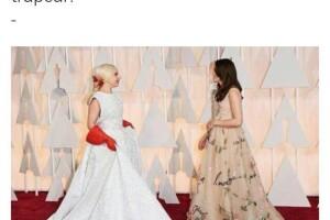 Los guantes de Lady Gaga no ayudaron mucho para para las burlas.