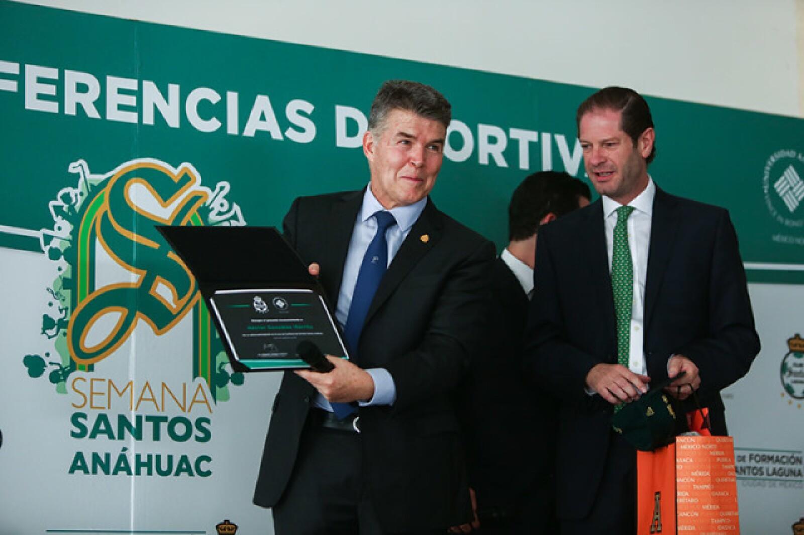 Héctor González Iñárritu y Manuel Portilla