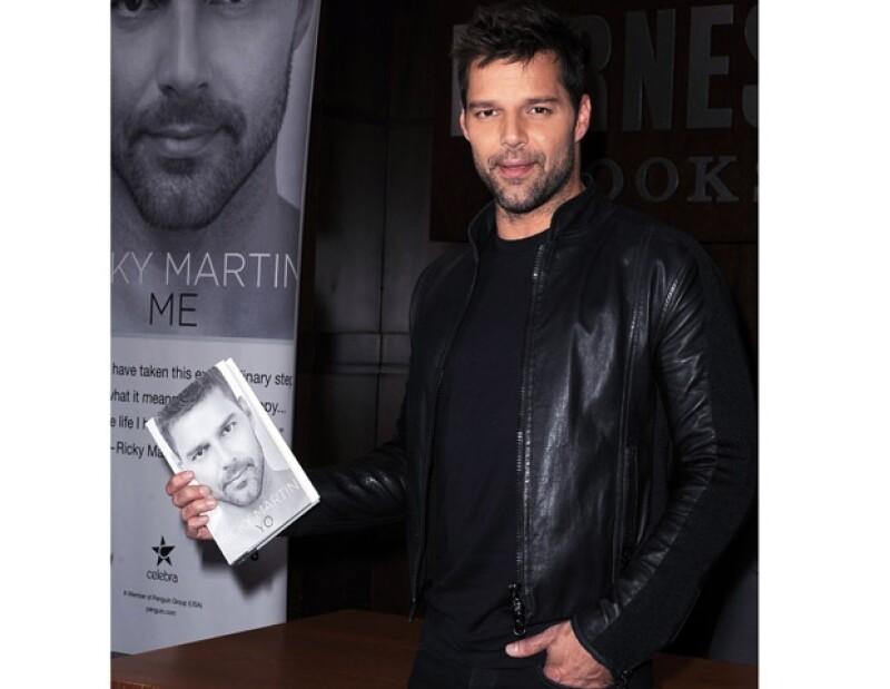 Ricky Martin dijo en su libro que siempre supo que era gay.
