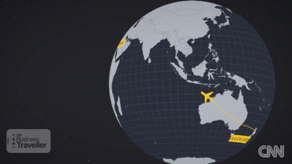 Este es el vuelo más largo del mundo: 17 horas y media de Doha a Auckland