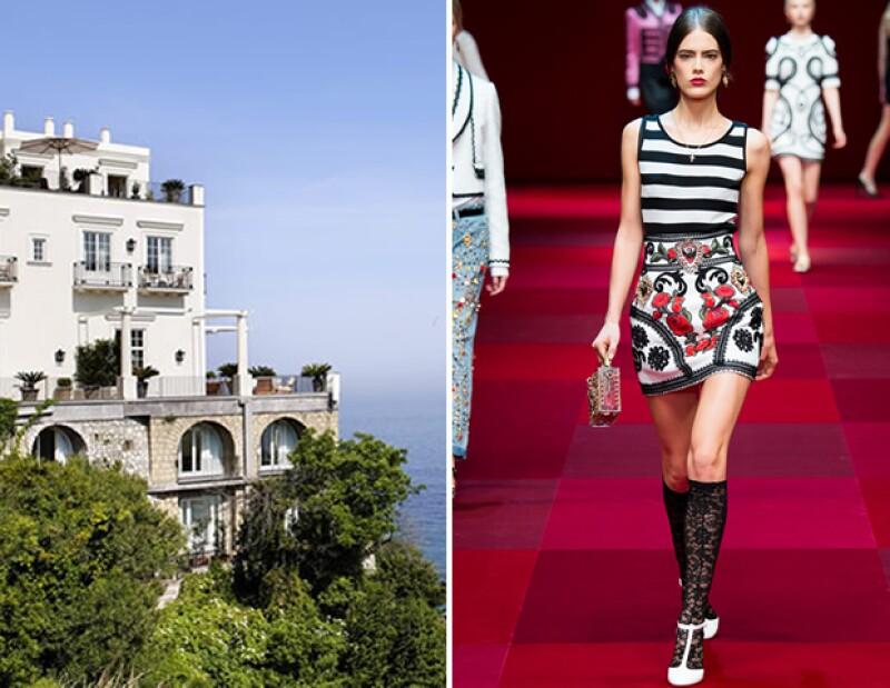 Visita el sur de Italia y hospédate en el lujoso J.K. Capri y disfruta en un look de Dolce & Gabbana.