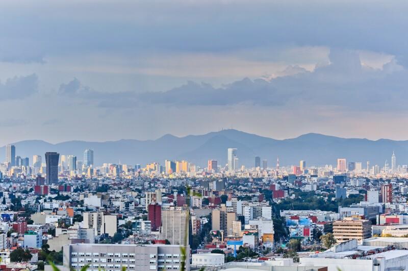 Mexico City Panorama