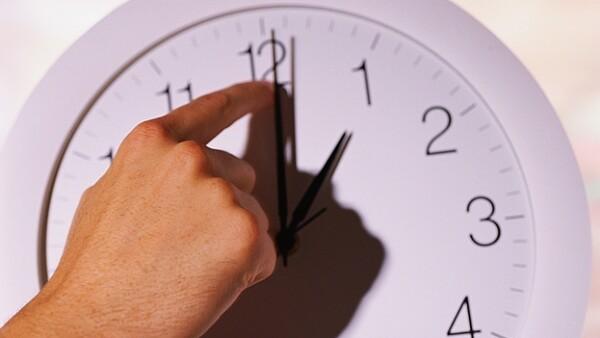 Reloj horario verano
