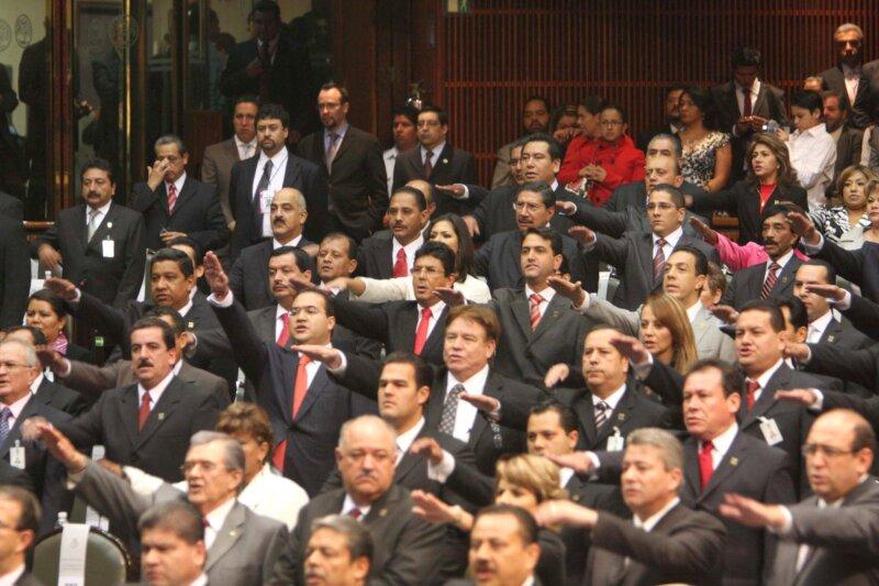 El presidente de México no rendirá su informe en la Cámara de Diputados (Foto: Notimex)