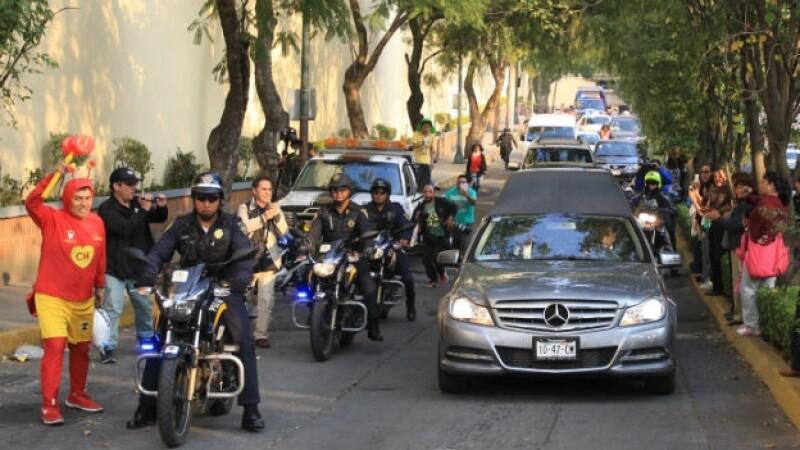 LLega el cuerpo a Televisa San Ángel