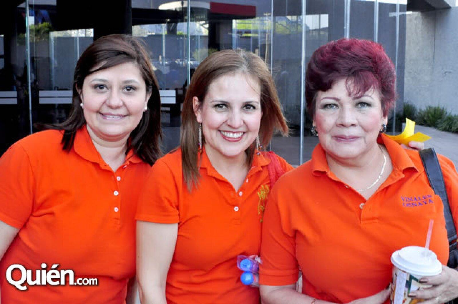 Maru Gómez, Lety de Vidales y Patricia de Vidales