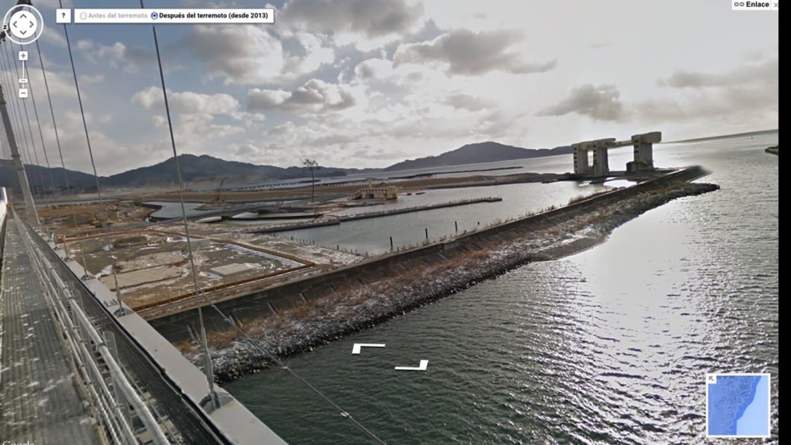tsunami japon google street view 1