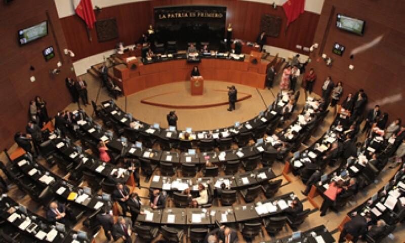 La sesión donde se discute el primer dictamen de las leyes secundarias inició formalmente al filo de las 11:00 horas. (Foto: Notimex)