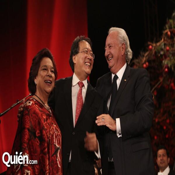 María Teresa Franco,Yo-yo Ma,Marcos Fastlicht