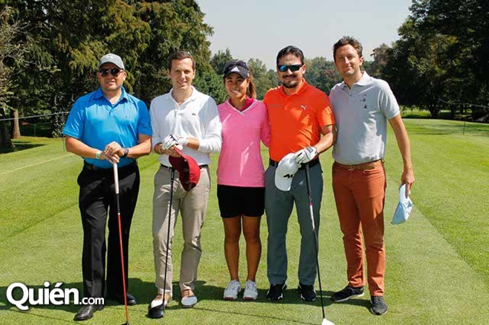 Miguel Monteagudo,Adrian Dultzin,Danielle Kang,Javier Salinas y Diego Dultzin