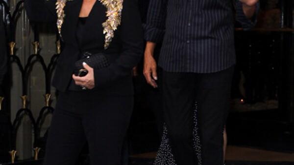 La madre de las hermanas Kardashian se expresó por primera, en una fiesta en Londres, sobre la reveladora portada de su ex pareja. ¿Qué fue lo que dijo?