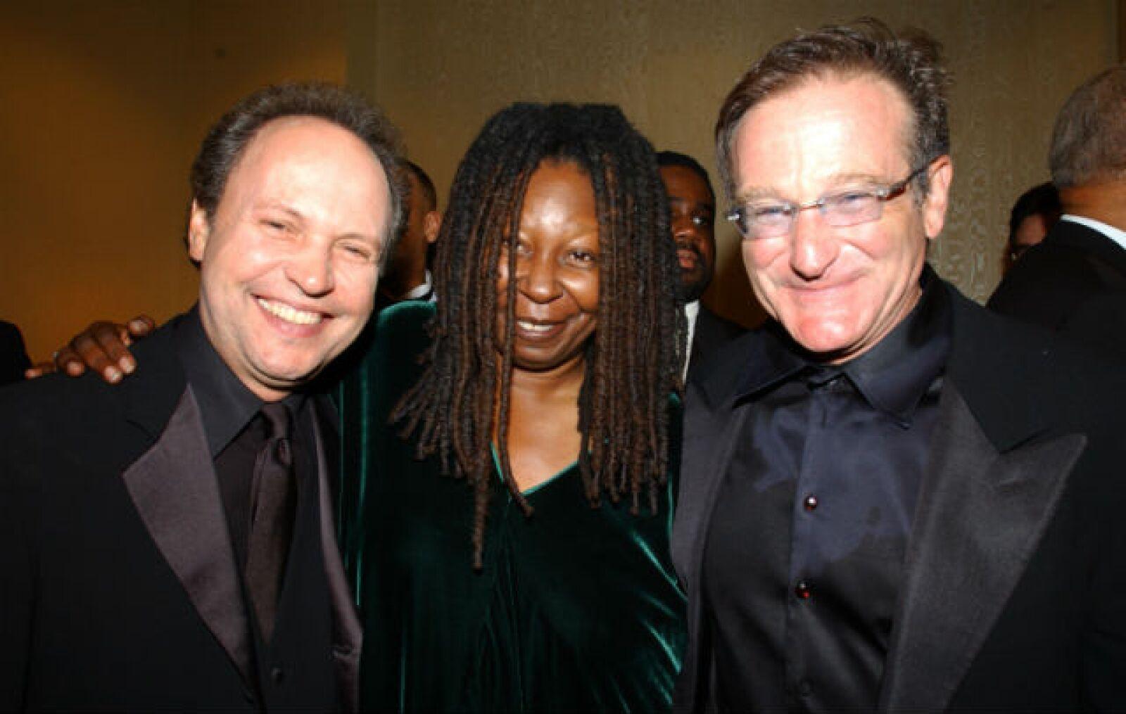 Whoopi y Billy formaron parte de la generación de actores y comediantes con la que Robin trabajó.