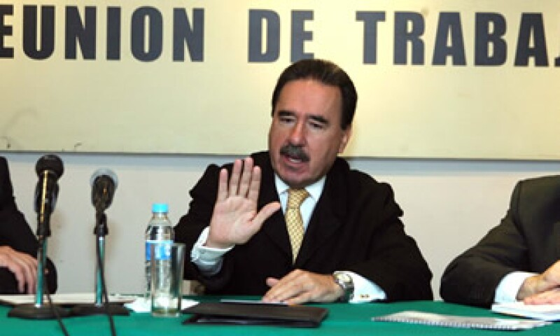 Emilio Gamboa Patrón ocupó la secretaría de Comunicaciones y Transportes durante el Gobierno de Carlos Salinas de Gortari. (Foto: Notimex)