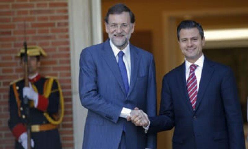Peña Nieto confió en que España superará pronto la crisis financiera que vive.  (Foto: Reuters)
