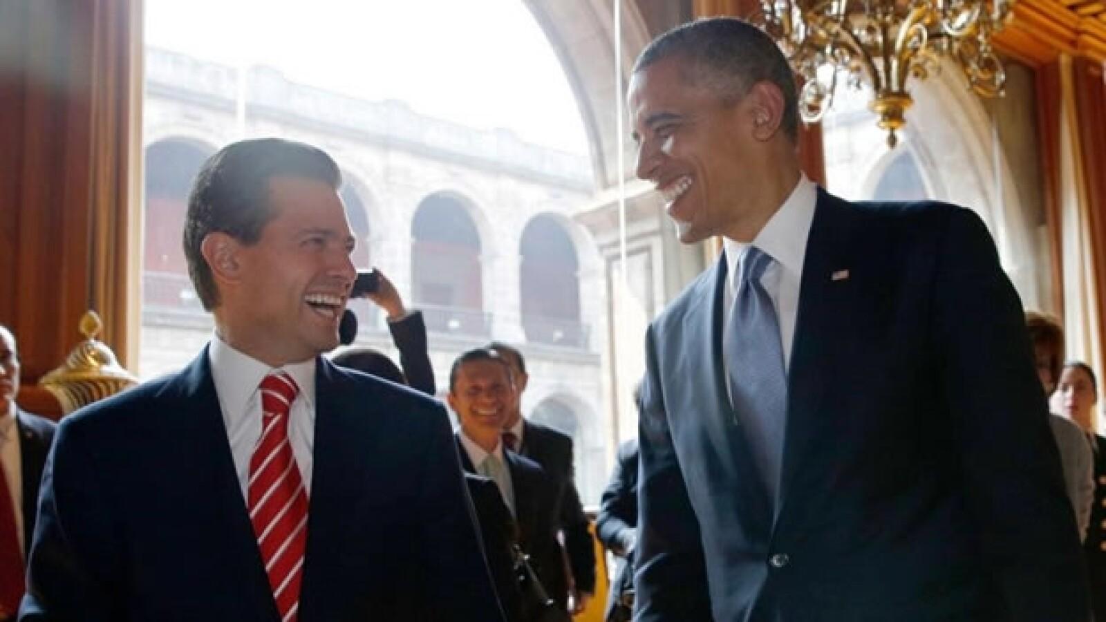 obama, peña nieto, palacio nacional