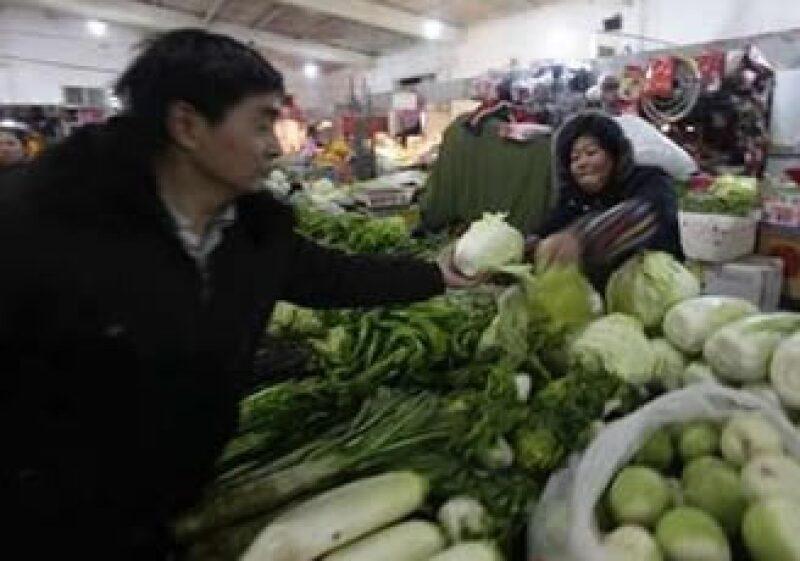 Los precios de los alimentos son el principal motor de la inflación en China. (Foto: Reuters)