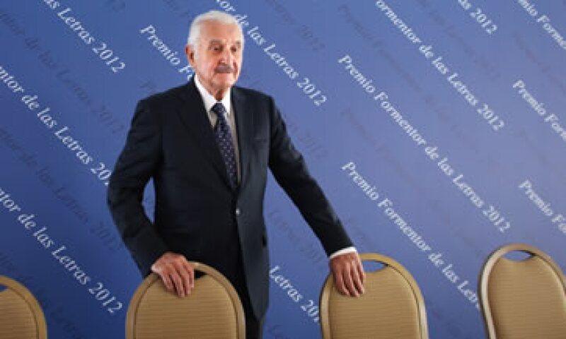 Carlos Fuentes es uno de los escritores mexicanos más reconocidos a nivel mundial. (Foto: AP)