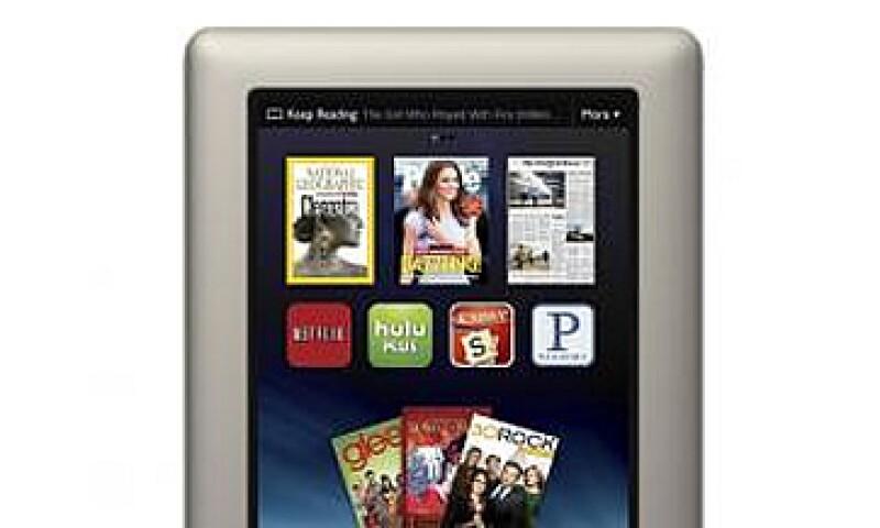 La nueva tablet se comercializará a partir del 15 de noviembre. (Foto: Cortesía Barnes and Noble)